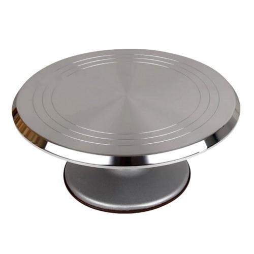 Поворотный стол металлический 30 см h 11 см