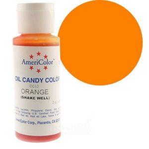 Краситель пищевой Americolor Candy Orange (оранжевый), 56гр.