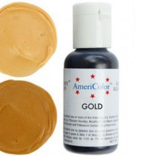 Краситель пищевой AmeriColor Gold (Золото) 21 гр