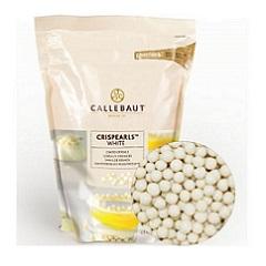 Хрустящие шарики белые Barry Callebaut 0,8 кг