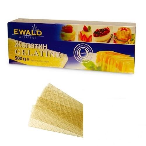 Желатин листовой Ewald 10 пластин