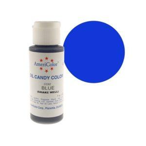Краситель пищевой Americolor Candy Blue (синий), 56гр.
