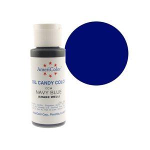 Краситель пищевой Americolor Candy Navy blue (темно-синий), 56гр.