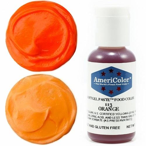 Краситель пищевой AmeriColor Orange (Оранжевый) 21 гр