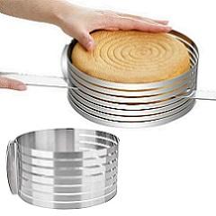Кольцо раздвижное с прорезями для нарезки 24-30 см