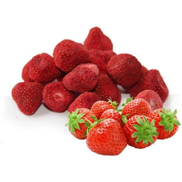 Клубника сублимированная целые ягоды 50 г