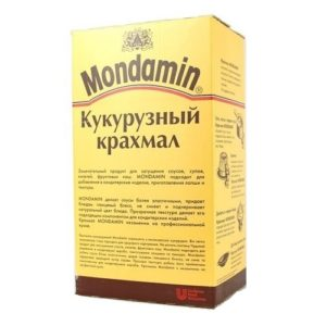 Кукурузный крахмал Mondamin 2,5 кг