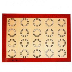 Коврик силиконовый армированный с разметкой 30х40 см