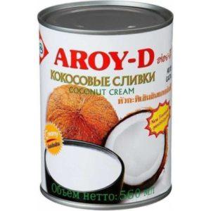 Сливки кокосовые Aroy-D 70%