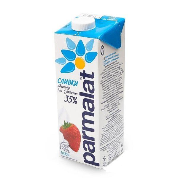 Сливки Parmalat для взбивания 35%