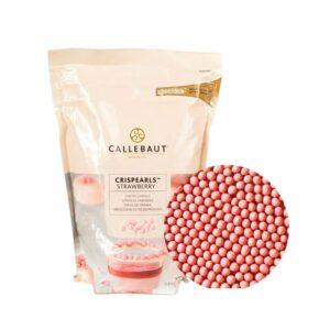 Хрустящие шарики розовые Barry Callebaut 0,8 кг