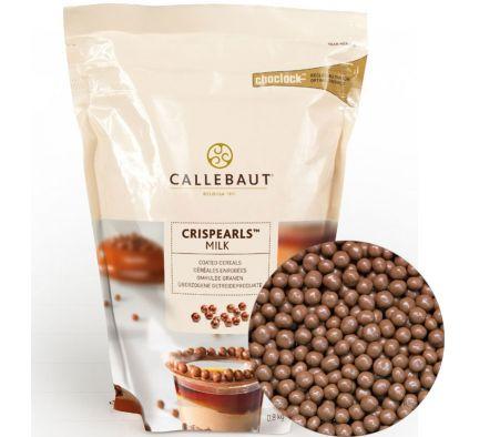 Шоколадные молочные шарики с хрустящим слоем Barry Callebaut 0,8 кг
