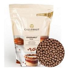 Хрустящие шарики молочные Barry Callebaut 0,8 кг