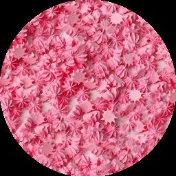 Мини-безе розовые 50 гр.
