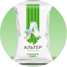 Сахарная пудра Альтер ультрамелкая 500 гр.