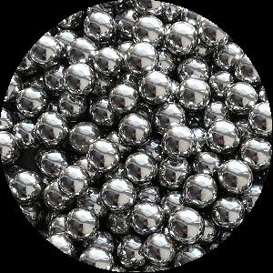 Шарики Серебро 6 мм 1 кг