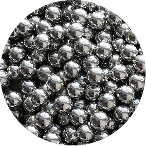 Шарики Серебро 6 мм 70 гр