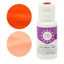 Краситель гелевый CAKE COLORS 143 Coral Red 20 гр