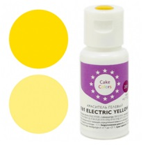 Краситель гелевый CAKE COLORS 161 Electric Yellow 20 гр