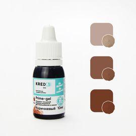Краситель пищевой водорастворимый Prime-gel Коричневый 10 мл