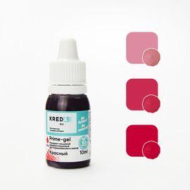 Краситель пищевой водорастворимый Prime-gel Красный 10 мл