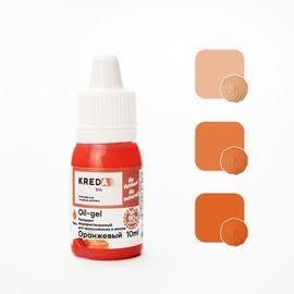 Краситель жирорастворимый Kreda Oil-gel Оранжевый 10 гр