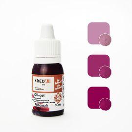 Краситель жирорастворимый Kreda Oil-gel Розовый 10 гр