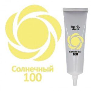 Жидкий краситель Топ продукт солнечный, 100 гр.