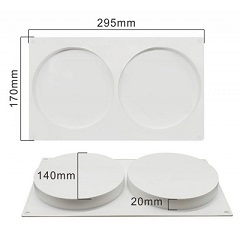 Форма силиконовая ДИСК 2*14 см для начинок