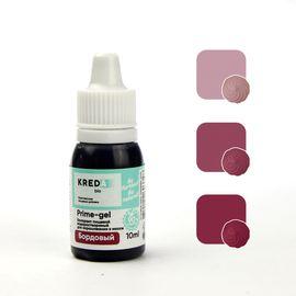 Краситель пищевой водорастворимый Prime-gel Бордовый 10 мл