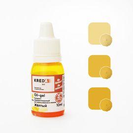 Краситель жирорастворимый Kreda Oil-gel Желтый 10 гр