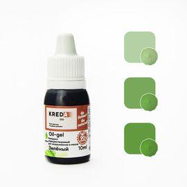 Краситель жирорастворимый Kreda Oil-gel Зеленый 10 гр