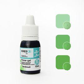 Краситель пищевой водорастворимый Prime-gel Зеленый 10 мл