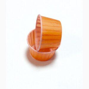 Форма бумажная МАФФИН 50х40, цвет оранжевый, 50 шт.