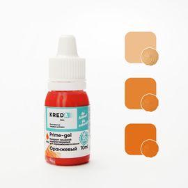 Краситель пищевой водорастворимый Prime-gel оранжевый 10 мл