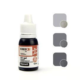 Краситель жирорастворимый Kreda Oil-gel Черный 10 гр