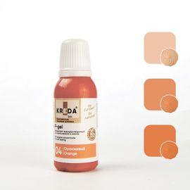 Краситель жирорастворимый Kreda F-gel Оранжевый 20 гр