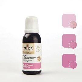 Краситель жирорастворимый Kreda F-gel Розовый 20 гр