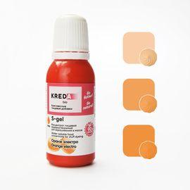 Краситель пищевой водорастворимый S-gel оранжевый 20 мл