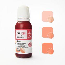 Краситель пищевой водорастворимый S-gel персиковый 20 мл