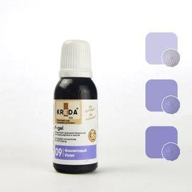 Краситель жирорастворимый Kreda F-gel Фиолетовый 20 гр