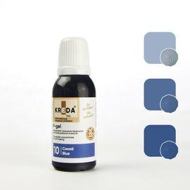Краситель жирорастворимый Kreda F-gel Синий 20 гр