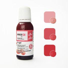 Краситель пищевой водорастворимый S-gel Красный 20 мл.