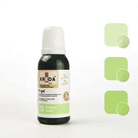 Краситель жирорастворимый Kreda F-gel Зеленый 20 гр