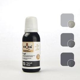 Краситель жирорастворимый Kreda F-gel Черный 20 гр