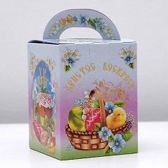 """Коробка для кулича """"Светлая пасха"""" 11.5х11.5х15"""