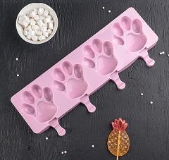 Форма для леденцов и мороженого Лапки