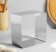 """Форма для выпечки и выкладки """"Квадрат"""", H-5 см, 12 х 12 см"""