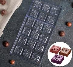 Форма для шоколада «Пористый шоколад» 18 ячеек