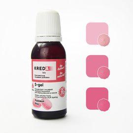 Краситель пищевой водорастворимый S-gel розовый 20 мл